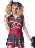 Adult Spiritless Zombie Cheerleader Costume [11058]