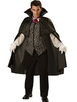 Adult Deluxe Midnight Vampire Costume [11002]