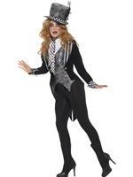 Adult Deluxe Miss Mad Hatter Costume