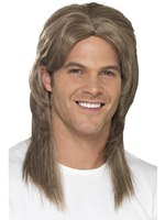 Adult Deluxe Mullet Wig [44645]