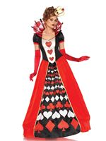 Adult Deluxe Queen of Hearts Costume