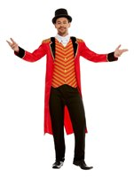 Adult Deluxe The Greatest Showman Ringmaster Costume