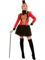 Adult Deluxe The Greatest Showman Ringmaster Lady Costume [51049]