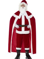 Adult Deluxe Santa Claus Costume [43124]