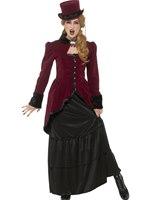 Adult Deluxe Victorian Vampiress Costume