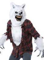 Adult Deluxe White Lycan Werewolf Costume [01360]
