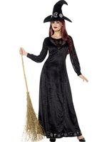 Adult Deluxe Witch Craft Costume