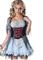 Adult Deluxe Zombie Beer Maiden Costume