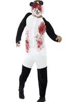 Adult Deluxe Zombie Panda Costume