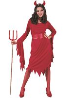 Adult Devil Lady Costume