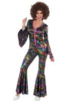 Adult Disco Jumpsuit