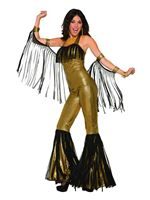 Adult Disco Queen Jumpsuit [AC80709]