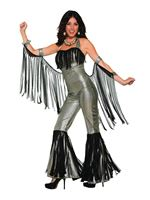 Adult Disco Queen Jumpsuit [AC80771]