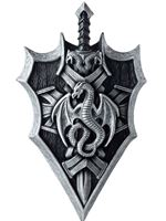 Adult Dragon Lord Shield & Sword