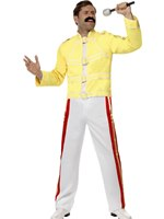 Adult Economy Freddie Mercury Costume [48299]