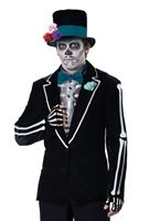 Adult El Novio Muerto Costume