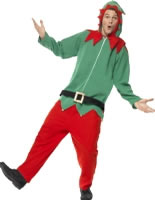 Adult Elf Onesie Costume