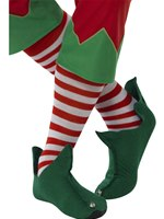Adult Elf Striped Socks [21420]