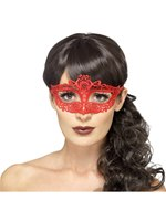 Adult Embroidered Lace Filigree Eye Mask