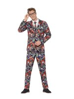 Adult Evil Clown Stand Out Suit