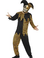 Adult Evil Court Jester Costume