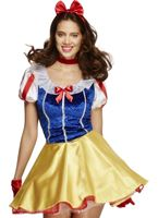 Adult Fairytale Snow Princess Costume