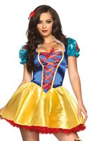 Adult Fairytale Snow White Costume
