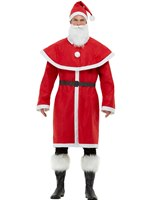 Adult Father Christmas Santa Costume
