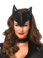 Adult Feline Femme Fatale Headband Mask [A1048]