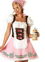 Adult Fetching Fraulein Oktoberfest Costume
