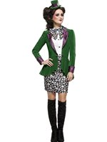 Adult Fever Eccentric Hatter Costume