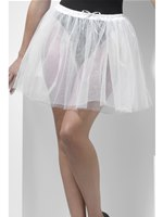 Adult Fever Longer Length White Petticoat