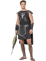 Adult Fever Male Dark Gladiator Costume [55028]