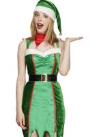 Adult Fever Naughty Elf Costume [43509]
