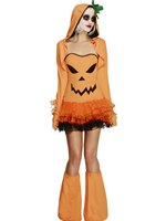 Adult Fever Pumpkin Costume