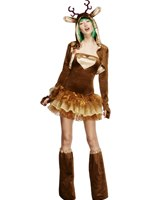Adult Fever Reindeer Costume [33868]