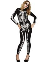 Adult Fever Soleil Skeleton Costume [22831]