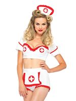Adult First Aid Flirt Costume [85197]
