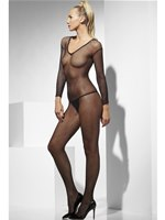 Adult Fishnet Sleeved Body Stocking