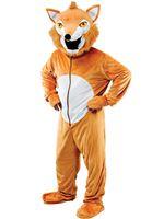 Adult Fox Big Head Costume