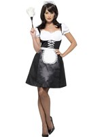 Adult French Maid Costume [45504]