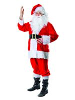 Adult Fur Santa Suit Costume