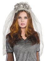 Adult Ghost Bride Headband
