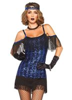 Adult Glamour Flapper Girl Costume [85369]