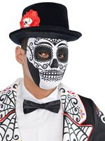 Adult Day of the Dead Top Hat [843923-55]