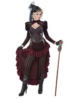 Adult Deluxe Victorian Steampunk Costume [01573]