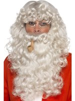 Adult Grey Santa Dress Up Kit [45181]