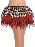 Adult Halloween Clown Tutu
