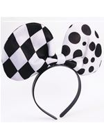 Adult Harlequin Clown Headband