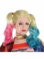 Adult Harley Quinn Suicide Squad Wig